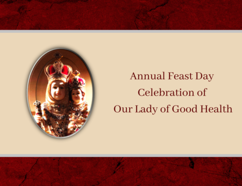 Annual Feast Day Celebration of Our Lady of Good Health