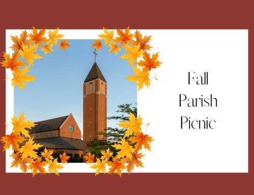 Fall Parish Picnic